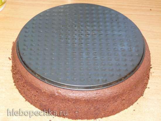 Торт «Шоколадно-абрикосовая вкусняшка»