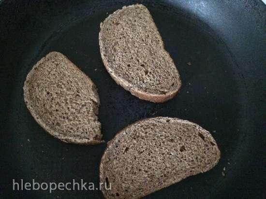 Maizes zupa – десерт из ржаного хлеба и сухофруктов