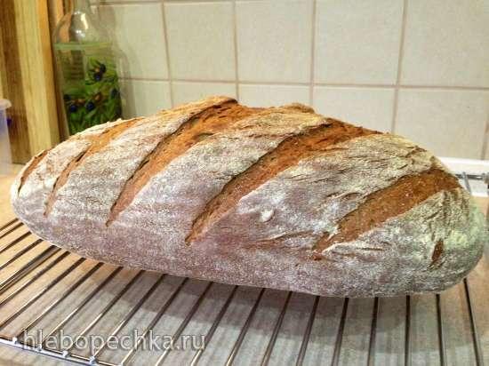 Как выпечь хлеб в духовке на закваске
