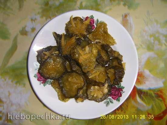 Огурцы сушеные, вяленые (соленые и сладкие)