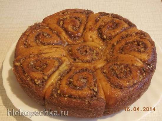 Творожные булочки с орехами в мультиварке Steba