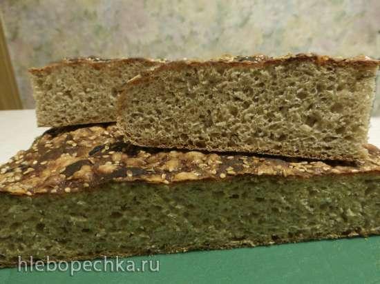 Пшенично-ржаная «почти Фокачча»
