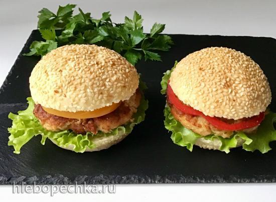Булки для гамбургеров от Ренато Боско