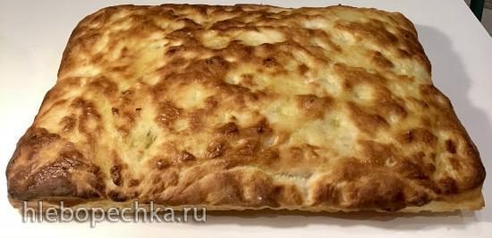 Фокачча (прямое тесто)