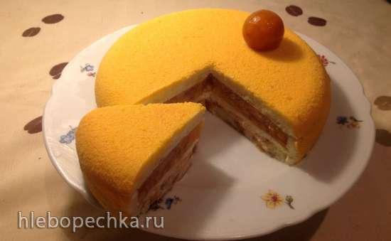 """Торт """"Мята и персик"""""""