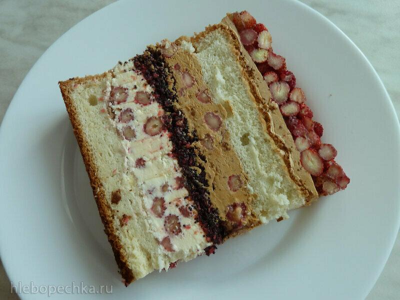 Торт Земляничная поляна