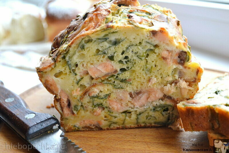 Рыбный пирог от Лизы Глинской