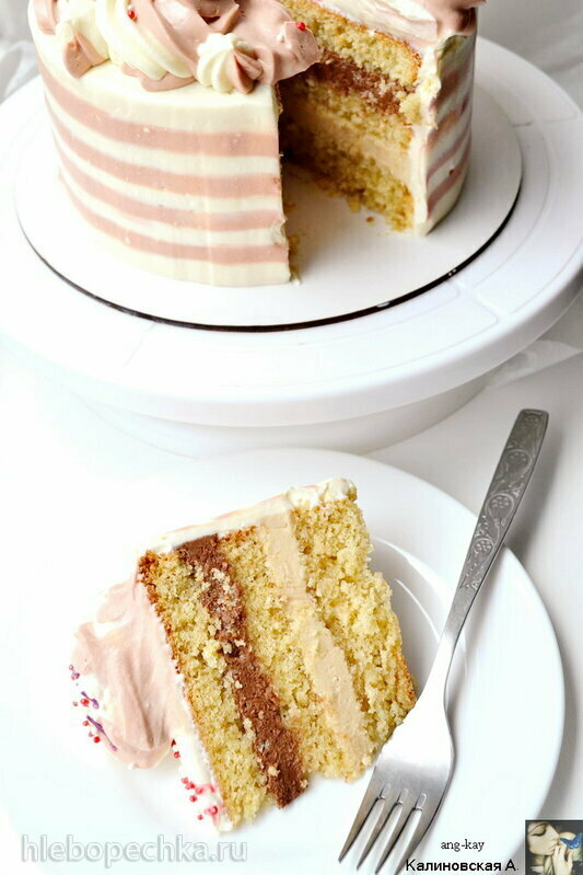 Бисквитный торт «Ширван»
