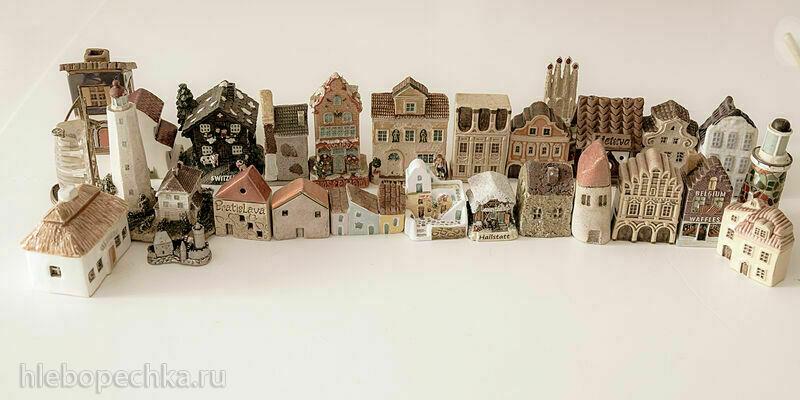 Наши коллекции сувенирной посуды и статуэток