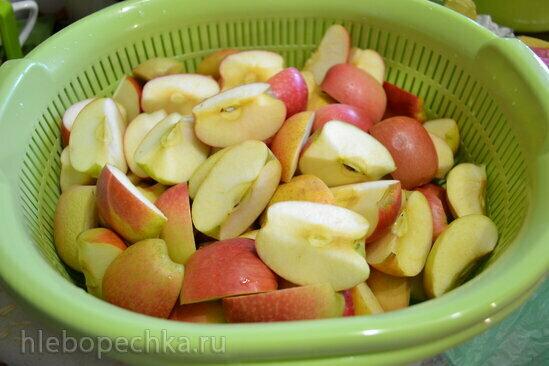 Джем из недозрелых яблок