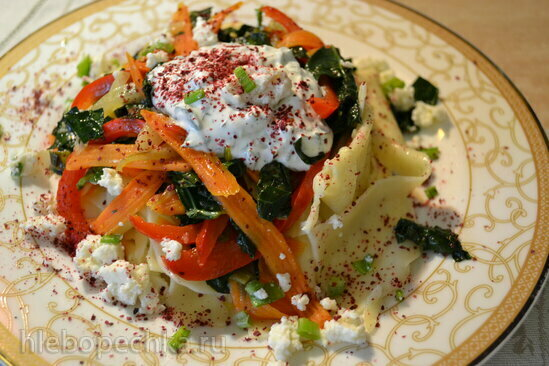 Хингал с овощами