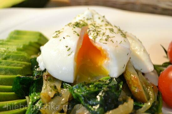 Простой способ приготовить красивое яйцо пашот