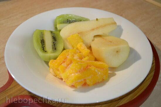 Детокс-смузи фруктовое на творожной сыворотке