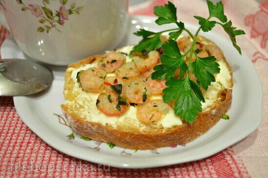 Овощной суп-пюре с бельгийским бутербродом