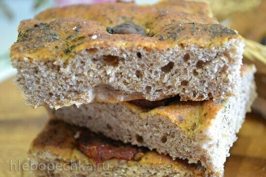 Кто-то печет хлеб без замеса на закваске в хлебопечке?
