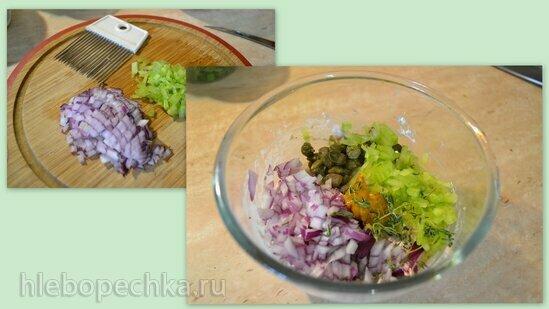 Тунец консервированный (соус тоннато и сливочная паста)