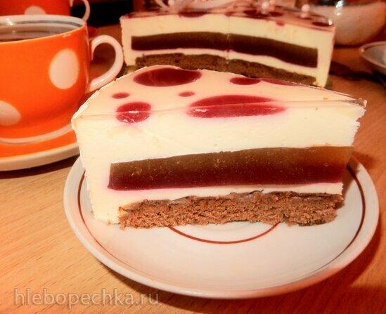Торт «Ягодный горошек»