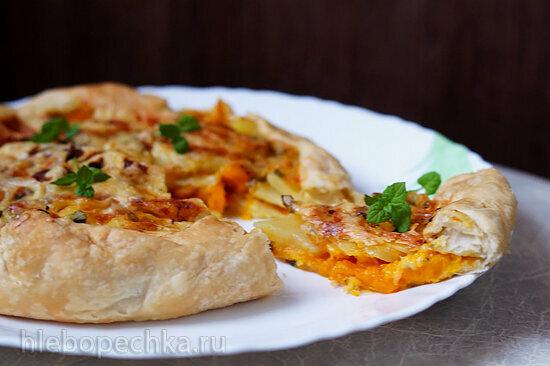 Деревенская пицца с картофелем (Pizza rustica)