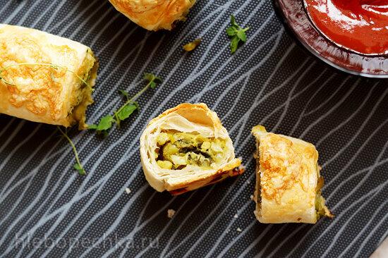 Неаполитанские бутерброды (Mini napolitanas)