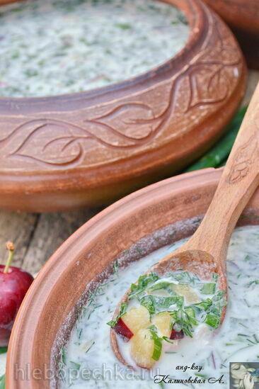 Левшинская окрошка (старинный рецепт)