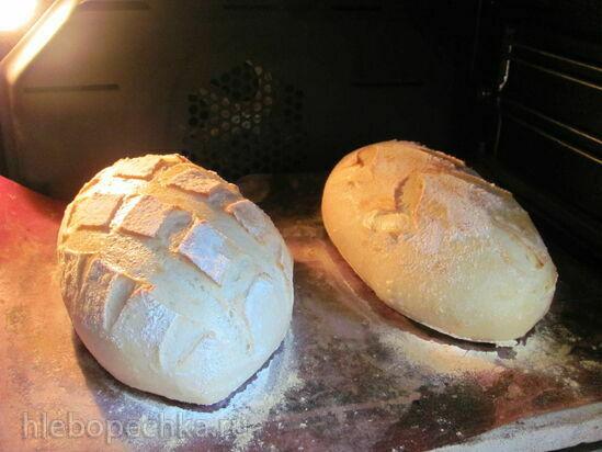 Пшеничный хлеб с семолиной и сывороткой