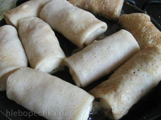 Блины постные с тофу