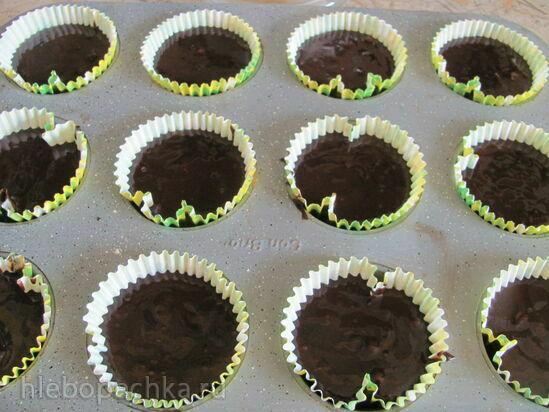 Шоколадные кексы на темном пиве