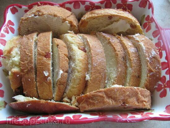 Британский хлебный пудинг
