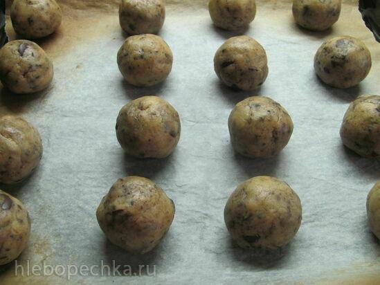 Ржаное печенье с виски и шоколадом