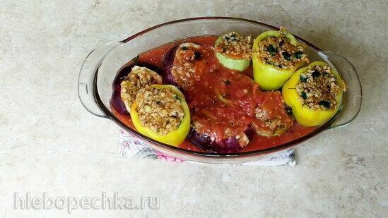 Гемиста - фаршированные овощи по-гречески (+видео)