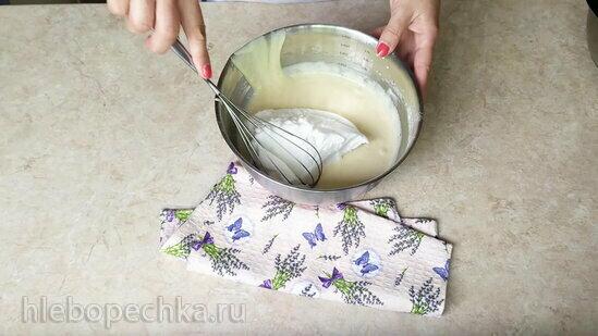 Лимонный пирог с необычной глазурью (+видео)