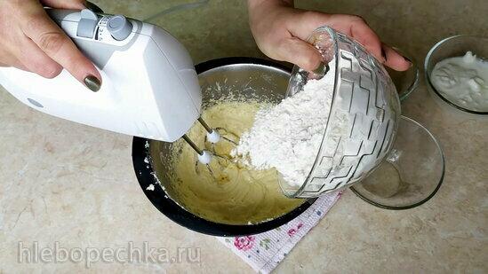 Лимонный кекс с жимолостью (+видео)
