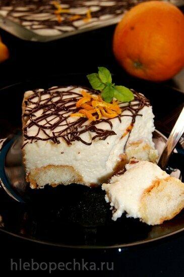 Лимонный десерт Облако