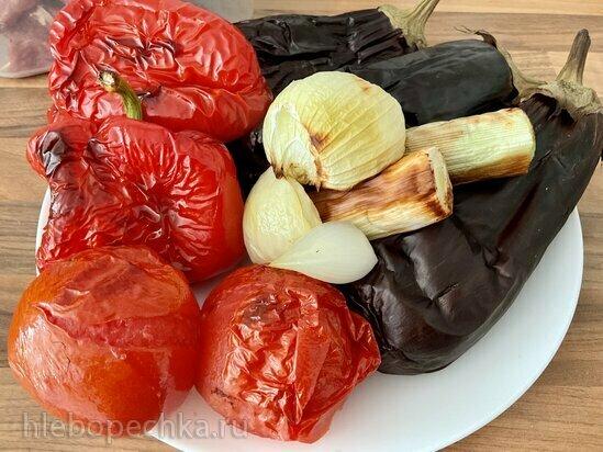 Запеченные овощи в гриле и кастрюльке Ninja