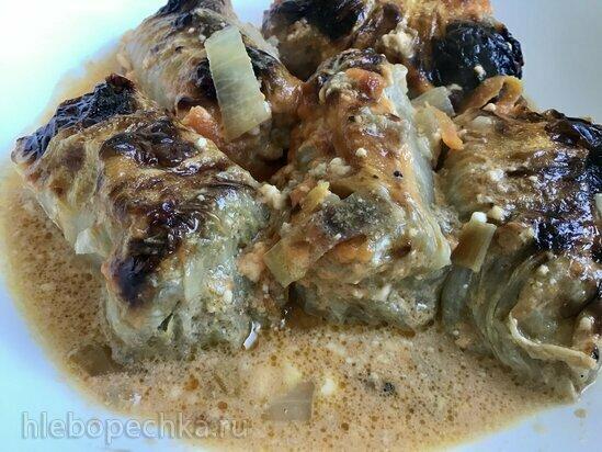 Голубцы из пекинской капусты запеченные в Ninja Foodi (духовка)