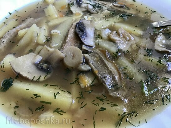 Грибной суп в Ninja® Foodi®