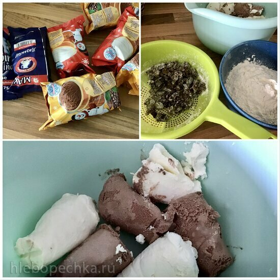 Кулич из мороженого (для очень-очень ленивых)