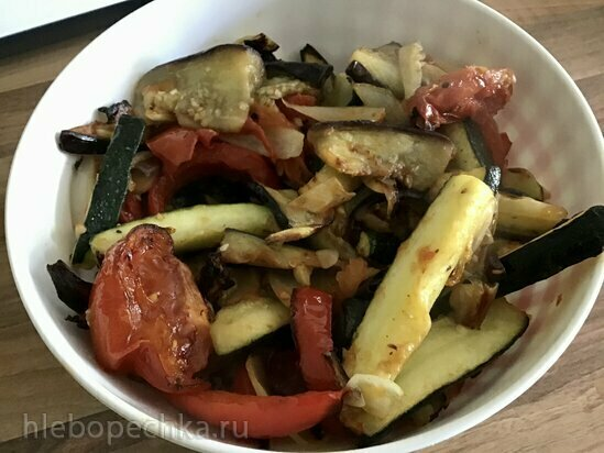 Овощи в гриле Ninja (любая АФ, духовка)