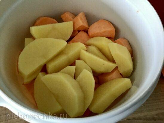 Овощи в маринаде в гриле Ninja (духовка, аэрогриль)