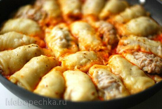 Обед на сковороде от Алены Митрофановой