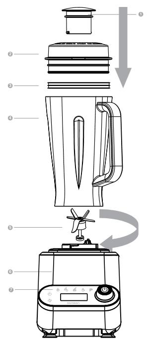Oursson PB1550HTD. Мощный высокоскоростной блендер