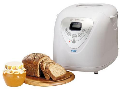 Технические характеристики хлебопечки Unit UAB-813