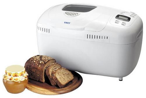 Технические характеристики хлебопечки Unit UAB-814