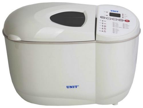 Технические характеристики хлебопечки Unit UAB-816
