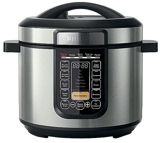 Мультиварка-скороварка Philips HD2133/40 Daily Collection с функцией Slow Cook