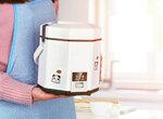 Маленькая экономная рисоварка в форме октагона (на 1,2 литра)