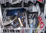 Выбираю узкую встроенную посудомойку с половинной загрузкой и верхним коромыслом