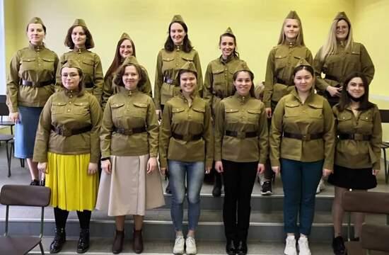 Песни военных лет... Усадьба Свиблово. 10 мая 2021 года