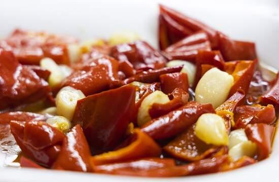 Напомните рецепт маринованного перца с чесноком