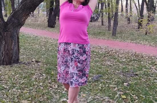 Танец Стихий. Каошики по-женски. Техника на 22 удара стопой. Под агму.
